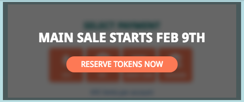 SaveDroid Main Sale Token Reserve