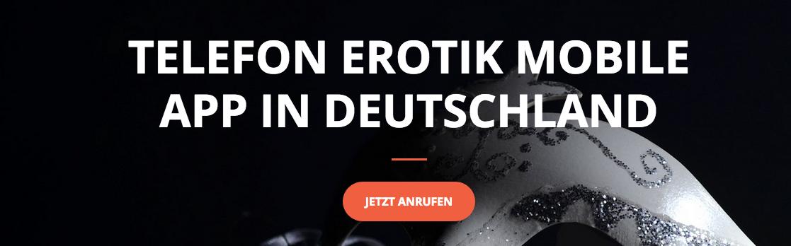 TeleErotik Mobile App Deutschland