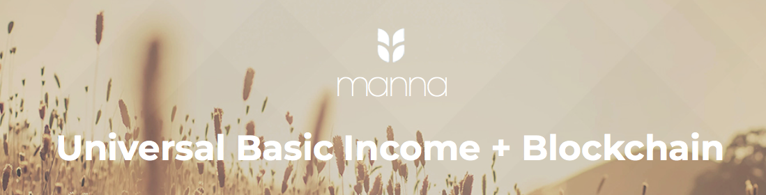 MannaBase - Universal Basic Income + Blockchain