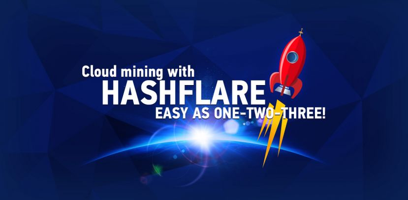 BitCoin Farm - HASHFLARE - lukratives Cloud Mining
