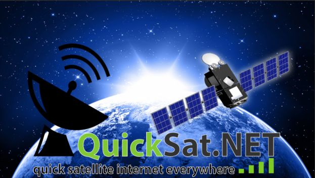 QuickSat.NET High Speed Internet via Satellite Everywhere