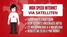 Internet überall und Welt der Wunder TV mit QuickSat.NET ansehen